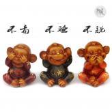 三不猴子 树脂工艺品