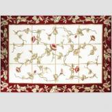 欧式美式毛加丝花朵地毯 ...