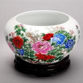 8款图案水缸 陶瓷工艺品