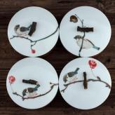 小鸟茶叶罐 茶叶罐工艺品