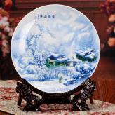 陶瓷装饰盘 陶瓷工艺品