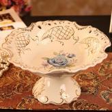 陶瓷水果盘 陶瓷工艺品