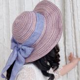 棉线防晒太阳帽 帽子工艺...