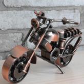 经典链条款铁艺摩托车模型...
