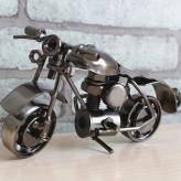 创意摩托车复古模型摆件 ...
