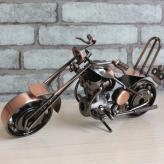 铁艺摩托车模型摆件 金属...