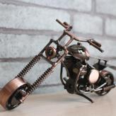 小号哈雷摩托车模型 金属...
