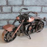 超大号哈雷摩托车模型 金...