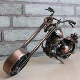 大号哈雷摩托车模型 金属...