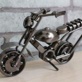 铁艺摩托车模型 金属工艺...