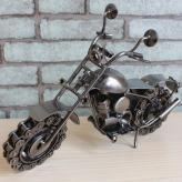 大号铁艺摩托车 金属工艺...