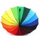 16骨彩虹雨伞 生活用品...