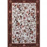 欧式美式碎花羊毛地毯 家...