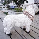 贝壳生肖羊工艺品 家居装...