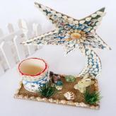 海螺贝壳许愿星 家居装饰...