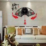 中式挂钟现代创意客厅大号...