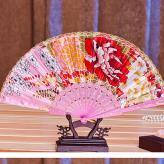 花边蕾丝绸布舞蹈塑料扇 ...