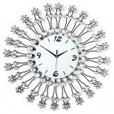 铁艺镶钻挂钟 金属工艺品