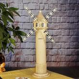 欧式复古仿古风车 金属工...