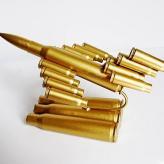 子弹壳工艺品 本色立式飞...
