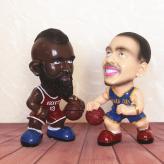 树脂摆件篮球明星存钱罐 ...