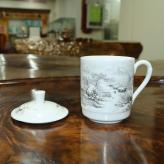 小号雪景茶杯 茶具艺术汇