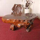 平桌 黄金樟 根雕艺术品
