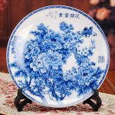 陶瓷装饰盘挂盘 陶瓷工艺...