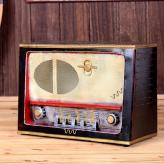 铁皮收音机模型 金属工艺...