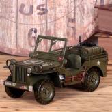 军用小汽车 金属工艺品