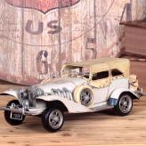 欧美复古跑车模型 金属工...