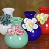 雕花陶瓷花瓶 家居装饰工...