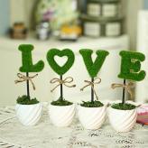 love仿真植物盆栽 ...