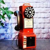电话摆设复古乐器模型 金...