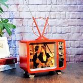 复古铁艺电视机模型 金属...