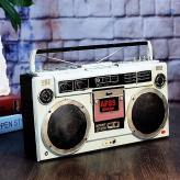 复古老式收音机摆件 金属...