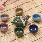 冰裂釉茶具套装 茶具工艺...