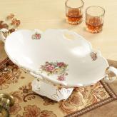 时尚创意陶瓷水果盘 陶瓷...