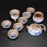 仿古荷花茶具 茶具艺术汇