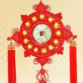 铜钱中国结挂件 家居装饰...
