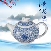 8头缠枝莲茶具套装  茶...