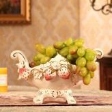 欧式高档陶瓷水果碗盘 陶...