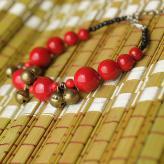 铜铃系扣手链 饰品工艺品