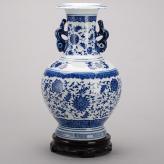 青花釉陶瓷花瓶 陶瓷工艺...