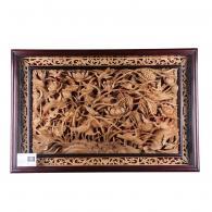 罗冬雄《一路连科》木雕艺术品