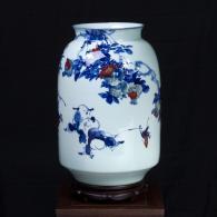 徐国琴《童趣》 陶瓷瓷瓶艺术品...