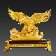 镀金色大展宏图老鹰 树脂工艺品