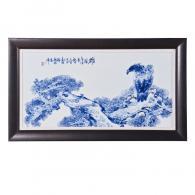 方文生《雄风》瓷板画艺术品