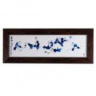 徐国琴《童趣》瓷板画艺术品