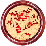 《无贴金猴》 潮州木雕艺术品